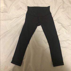 lululemon athletica Pants - Lululemon grey wunder under high rise tights